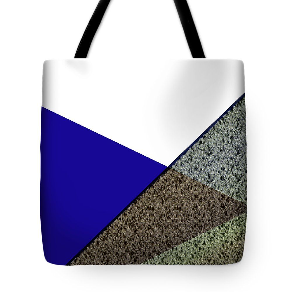 Geometric Art 155 Tote Bag by Bill Owen.  The tote bag is machine washable, available in three different sizes, and includes a black strap for easy carrying on your shoulder.  All totes are available for worldwide shipping and include a money-back guarantee.