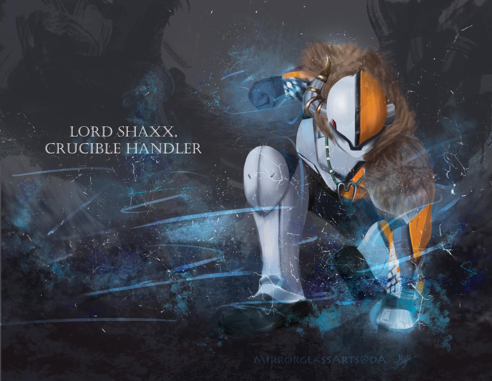 Lord Shaxx Destiny Game Destiny Comic Destiny