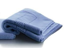 Petale Agapanthe Towels by Anne de Solene