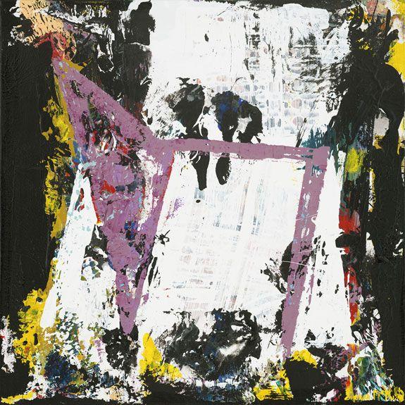 Minneapolis Mn Vikings Modern Art Painting Artwork Purple