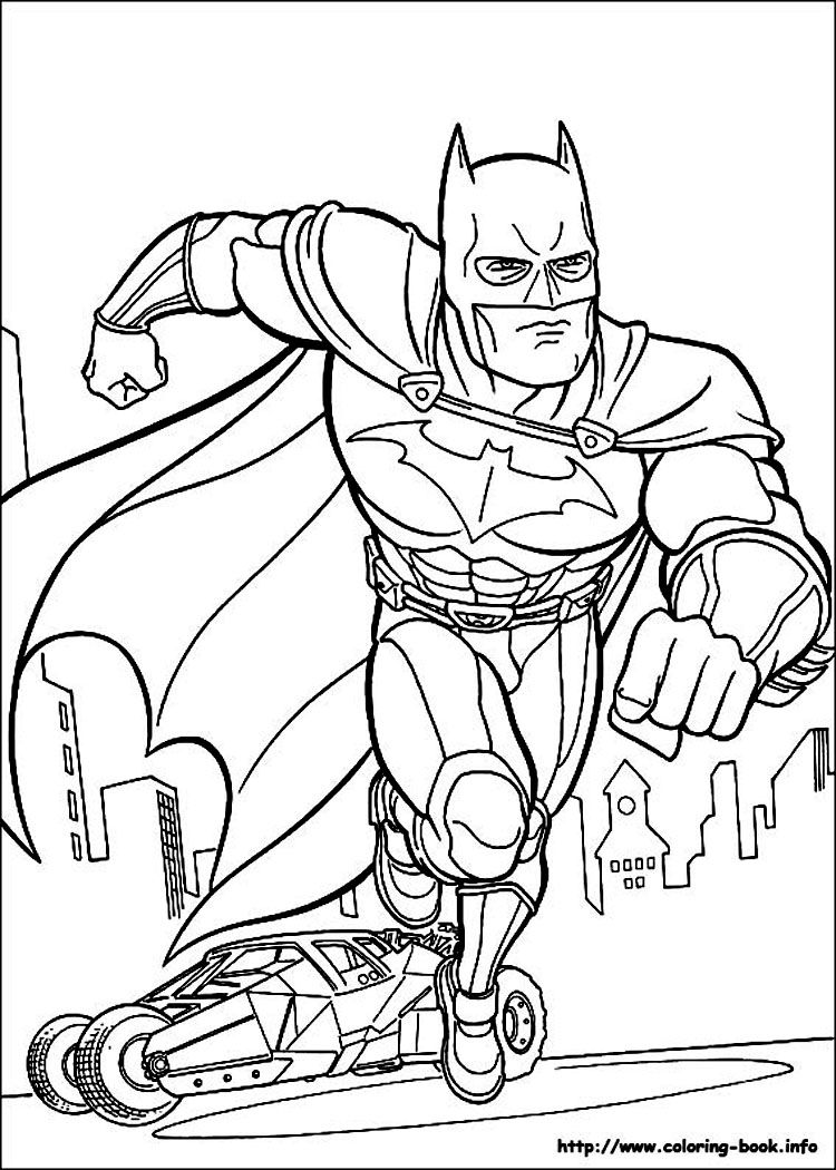 batman coloring pages DC | Comic Book Coloring Pages | Pinterest