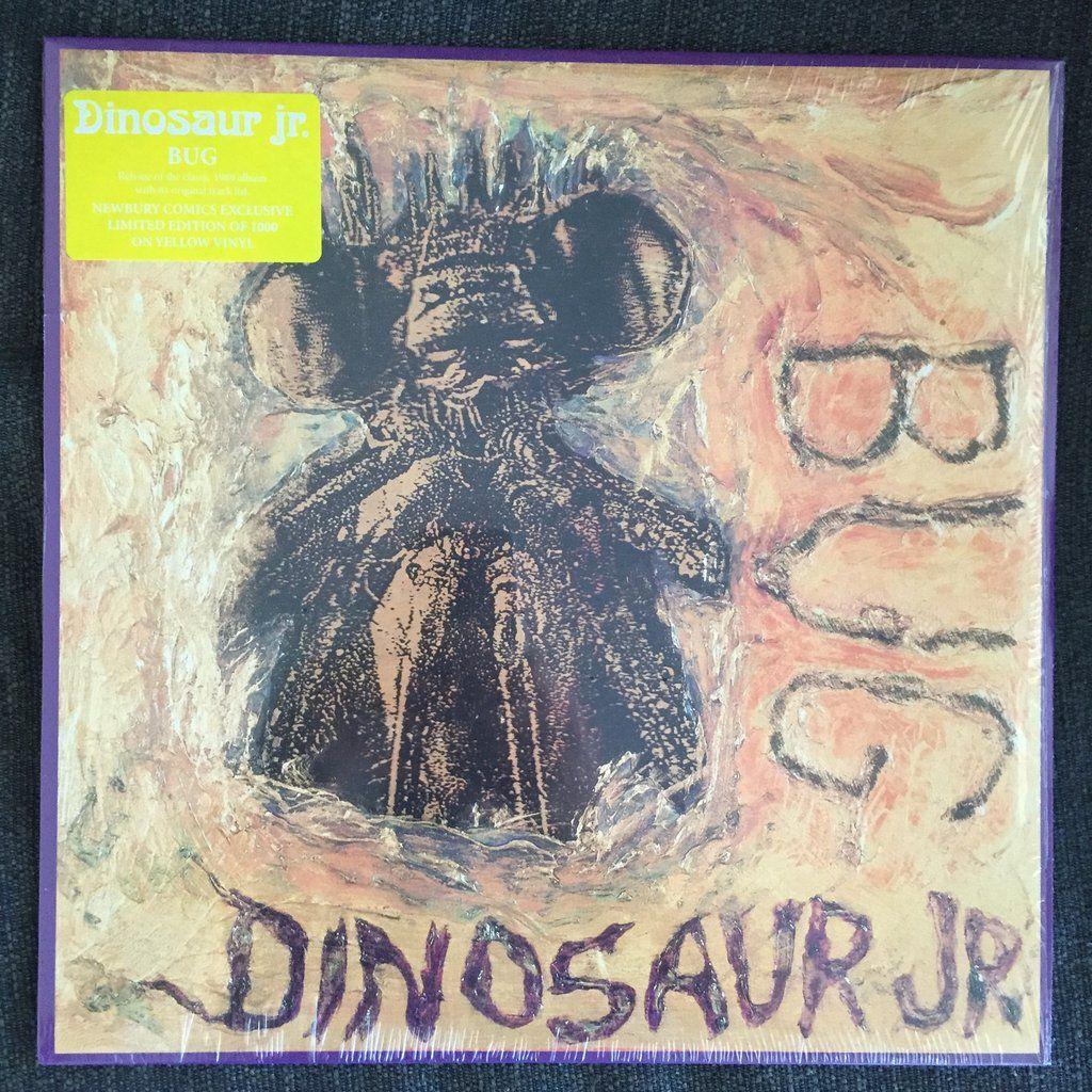 Dinosaur Jr Bug Used Lp Yellow Vinyl Dinosaur Jr Bugs Yellow