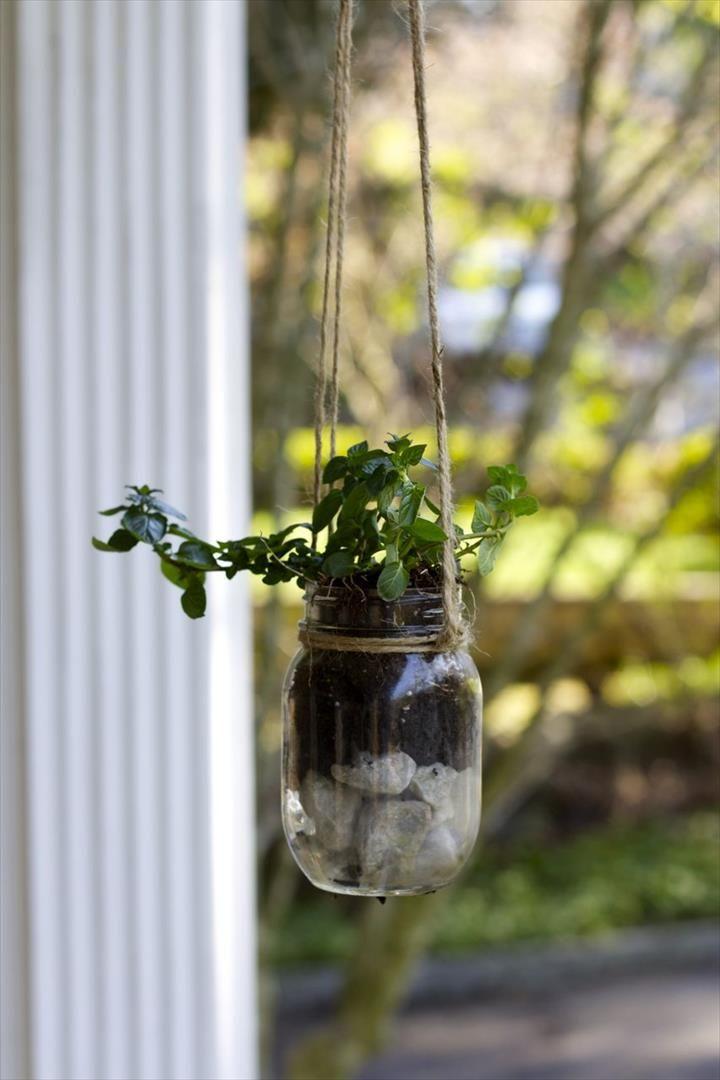 45 New Planter Ideas For Using Mason