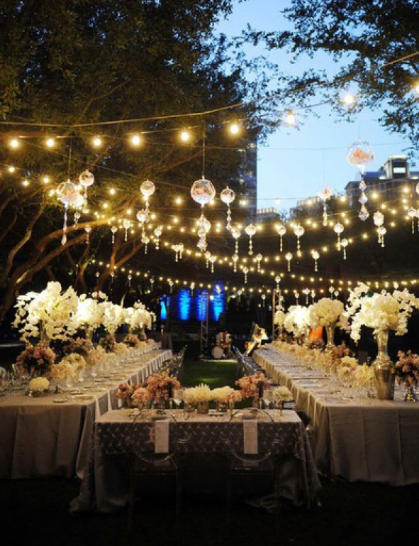 Perfect outdoor wedding complete with fairylights bridestheshow perfect outdoor wedding complete with fairylights bridestheshow aloadofball Gallery