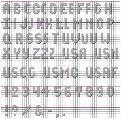 Back Gt Gallery For Gt Block Letter Alphabet On Graph Paper
