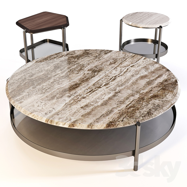 3d models Table Coffee Table Skyline Set