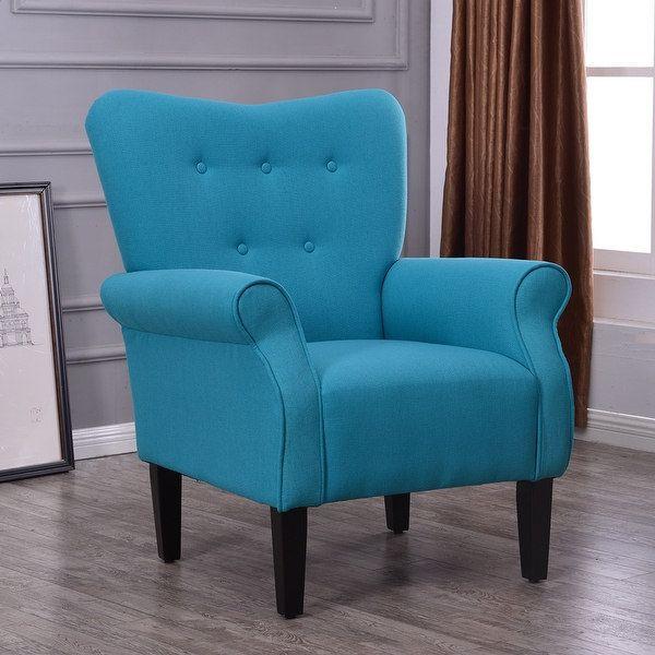 Best Belleze Living Room Modern Wingback Armchair Accent Chair 400 x 300