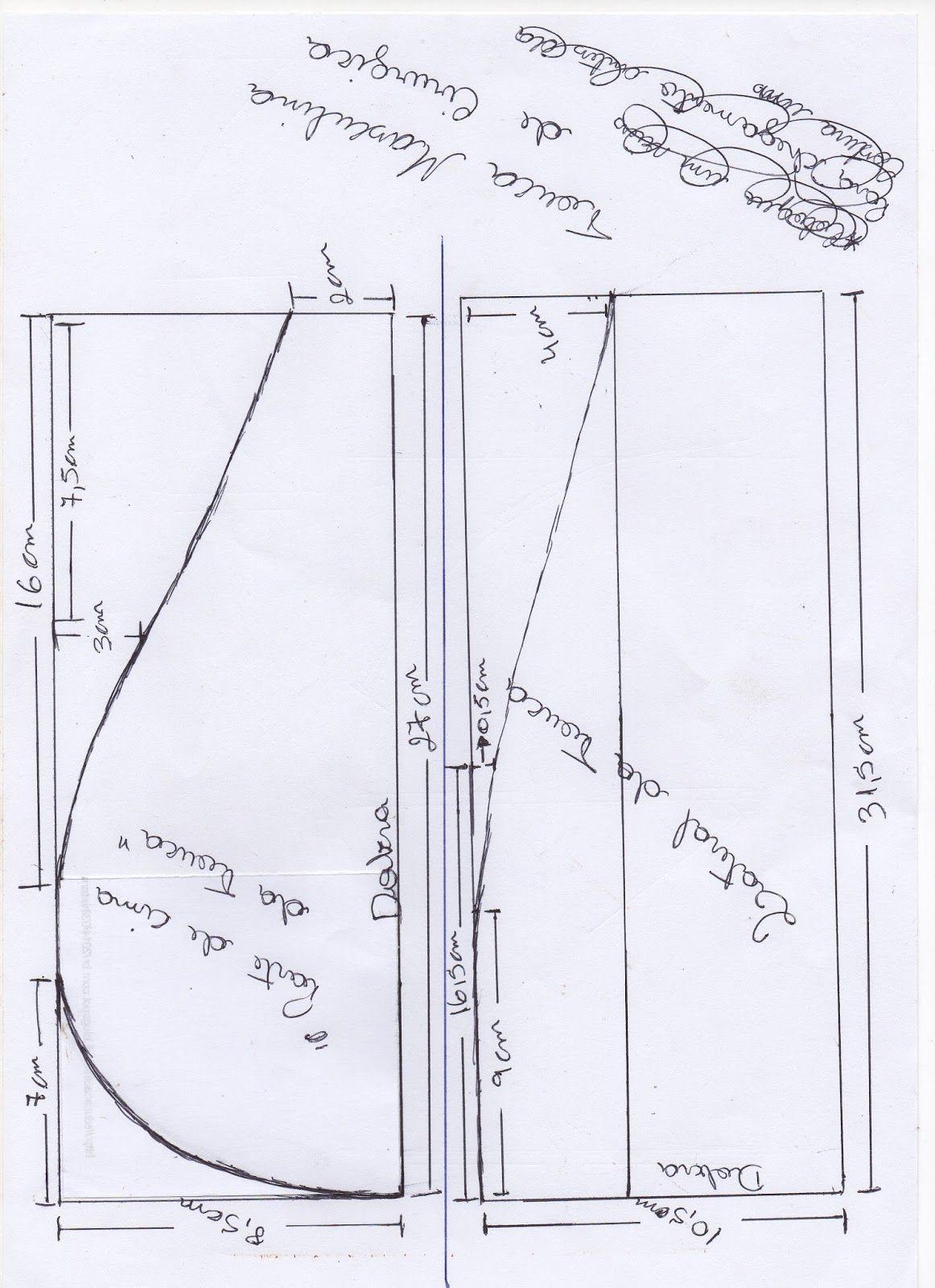 Molde de touca cirúrgica masculina Eu procurava tanto mais ninguém e nenhum  site ensinava a como fazer a touca cirúrgica . 1f4c99b4c96