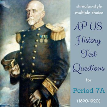 AP US History New Style Test Bank For Period 7 Part I