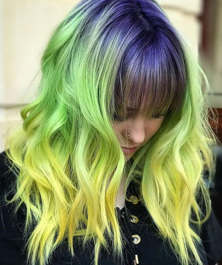 Pin On Purple Green Blue Ombre