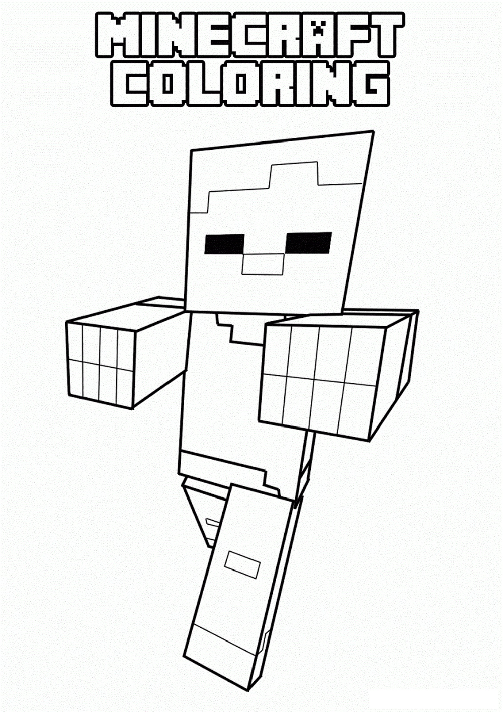 Favorite Coloring Pages For Boys Minecraft Coloring Pages Minecraft Printables Minecraft Drawings