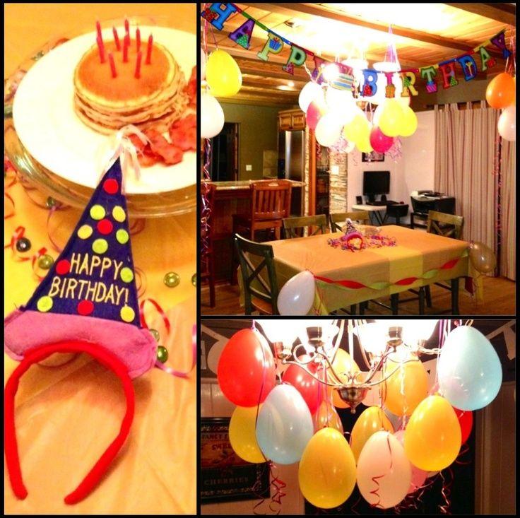 Morning Birthday Surprise For Girl