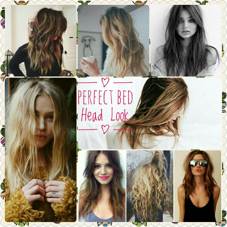 Hairhacks How To Get The Perfect Bed Head Look Messy Hair Look Hair Styles Hair