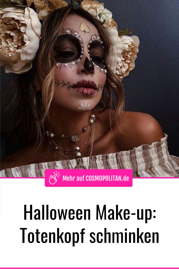 Halloween-Make-up: 3 gruselige Schmink-Tutorials