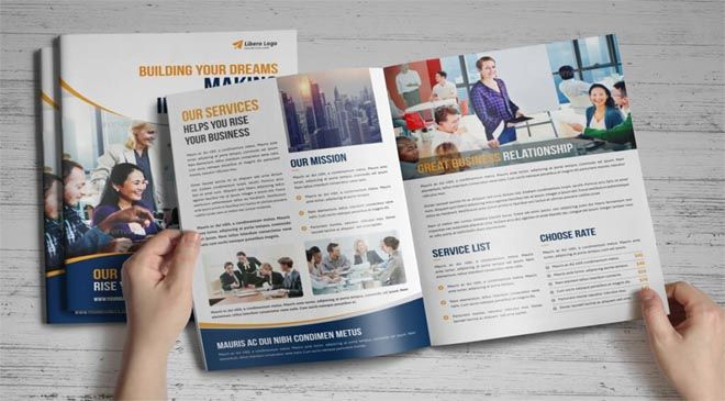 bifold brochure template word bifold brochure template indesign - free leaflet template word