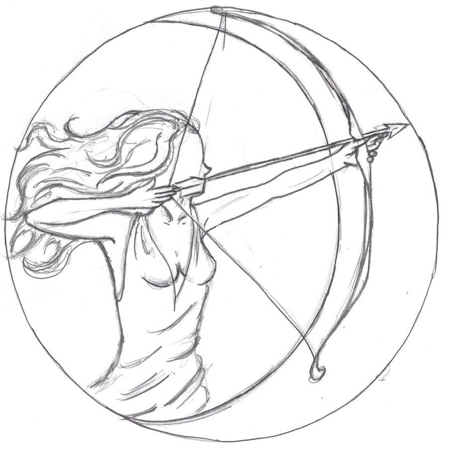 I never expected any of my designs to end up floating around the symbol for the goddess tattoo artemis biocorpaavc Choice Image