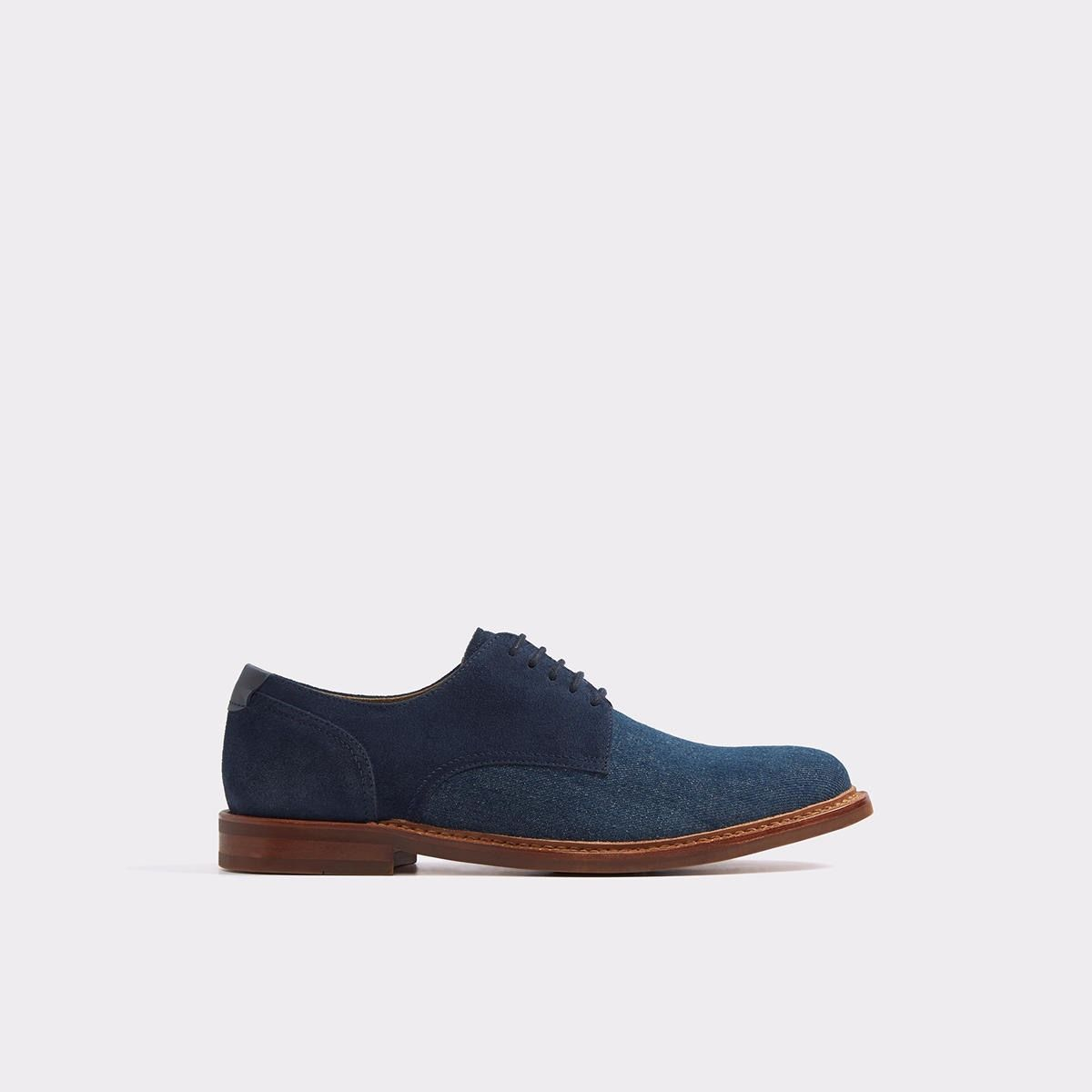 db3f94c41c0 Uleradien Navy Men s Dress shoes
