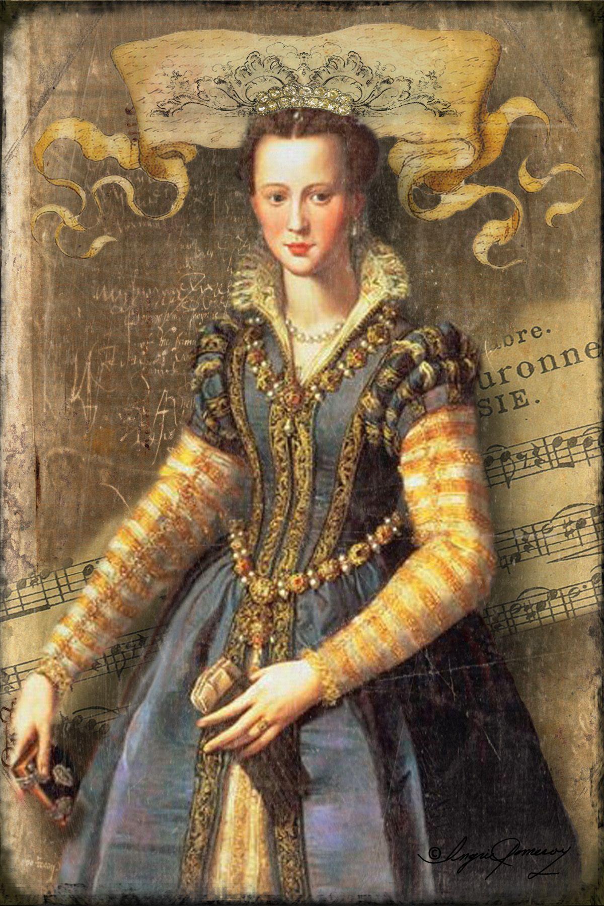Another Renaissance Maiden Renaissance fashion