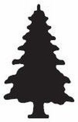 Martha Stewart Motivstanzer christmas Tree M230769