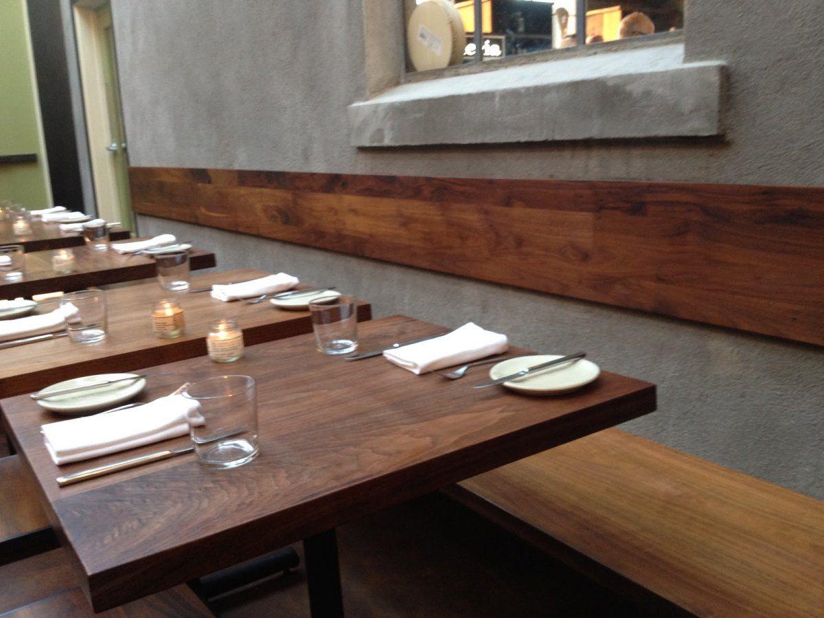 modern-kitchen-long-bench-seating-walnut-wooden-materials-beside