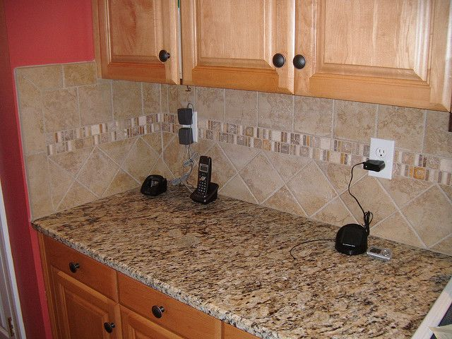 Santa Cecilia Granite With Tile Backsplash Charlotte Nc Santa Cecilia Charlotte Nc And Granite