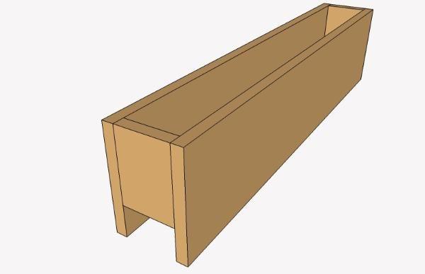 Deck Rail Planter Simple Box Deck Ideas Deck Railing Planters