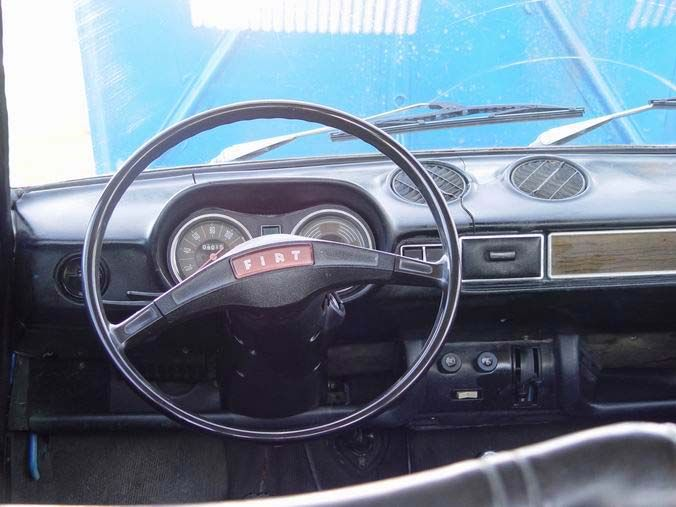 Fiat 128 Dashboard Car Fiat 128 Fiat Gas Service