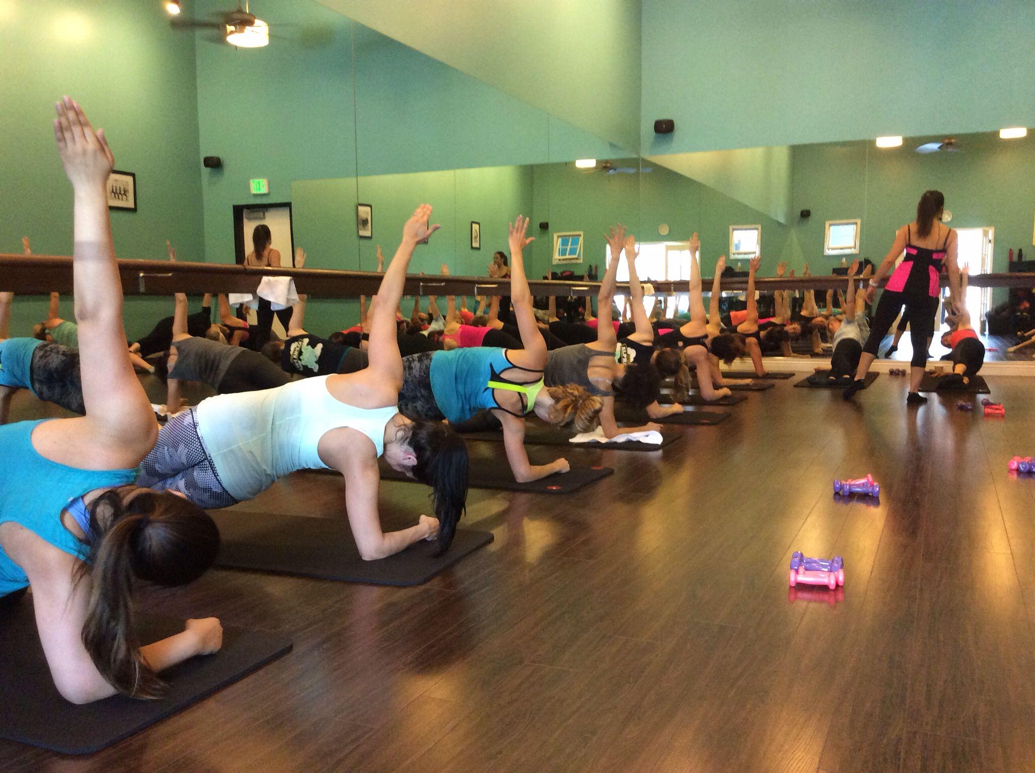 Barre camp barre workout