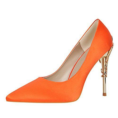 Chaussures à talon aiguille à bout rond Zormey Sexy femme Eh3SiT