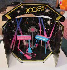 Vintage 1976 Barbie and the Rockers Stage Set 2 Keyboards 2 Guitars Lights