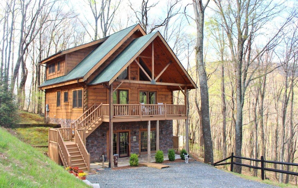 Jim Barna Log Cabin NC Rustic house, Cabins in the woods