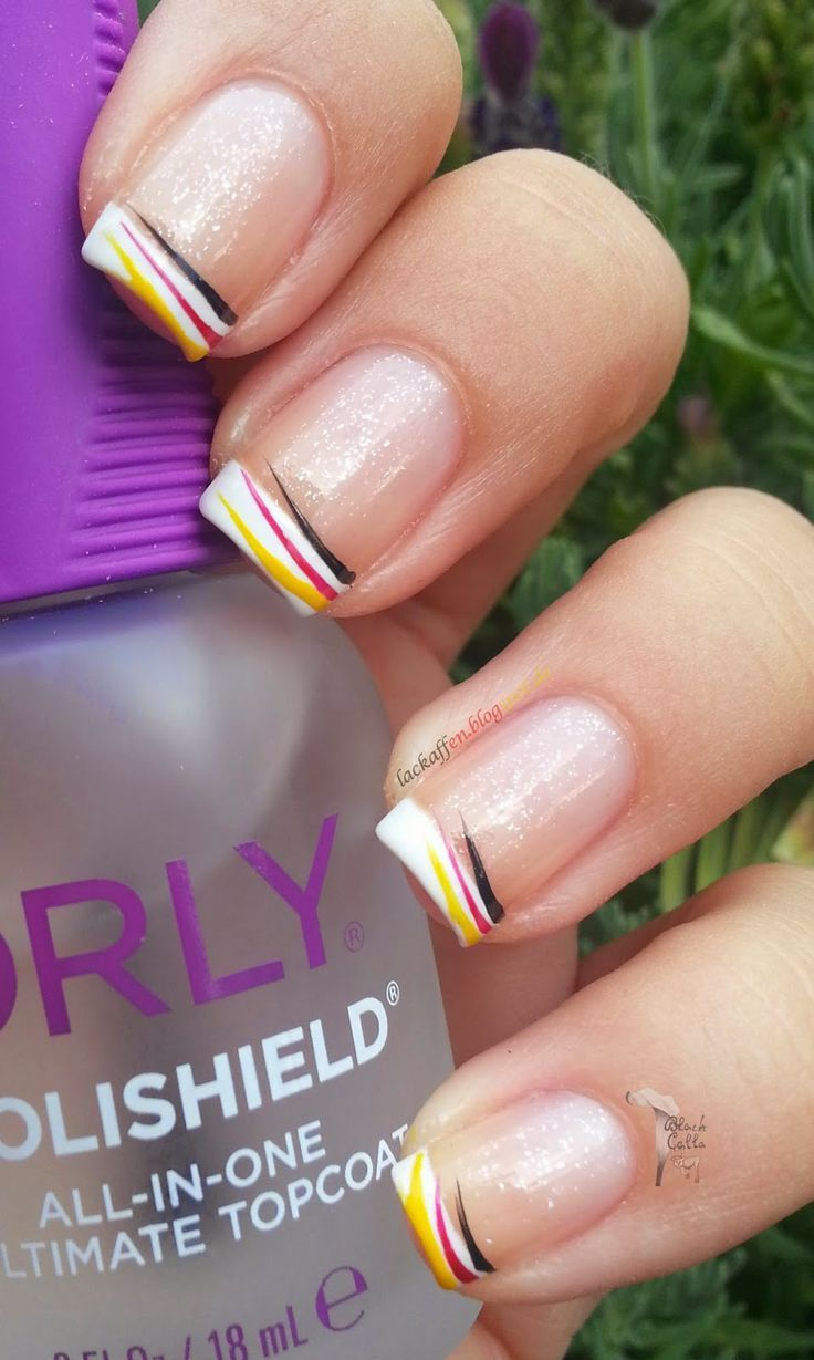 german nails 5 besten | German nails, Nails und Nageldesign