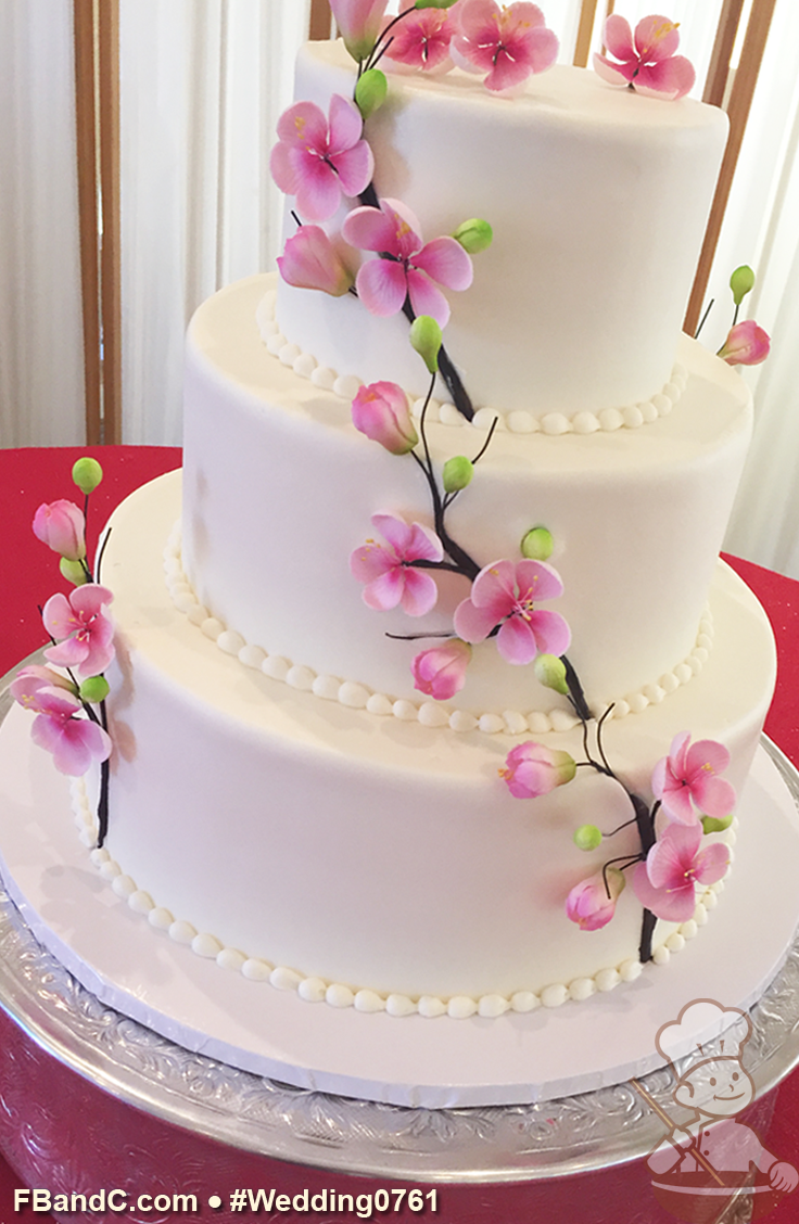 Cream heart cake says i love you in a hundred different ways - Design W 0761 Butter Cream Wedding Cake 12 9 6