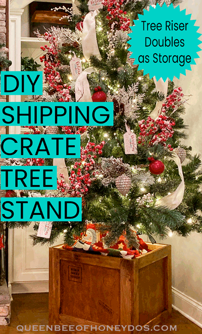 How To Christmas Tree Shipping Crate Stand Christmas Tree Shipping Crates Crates