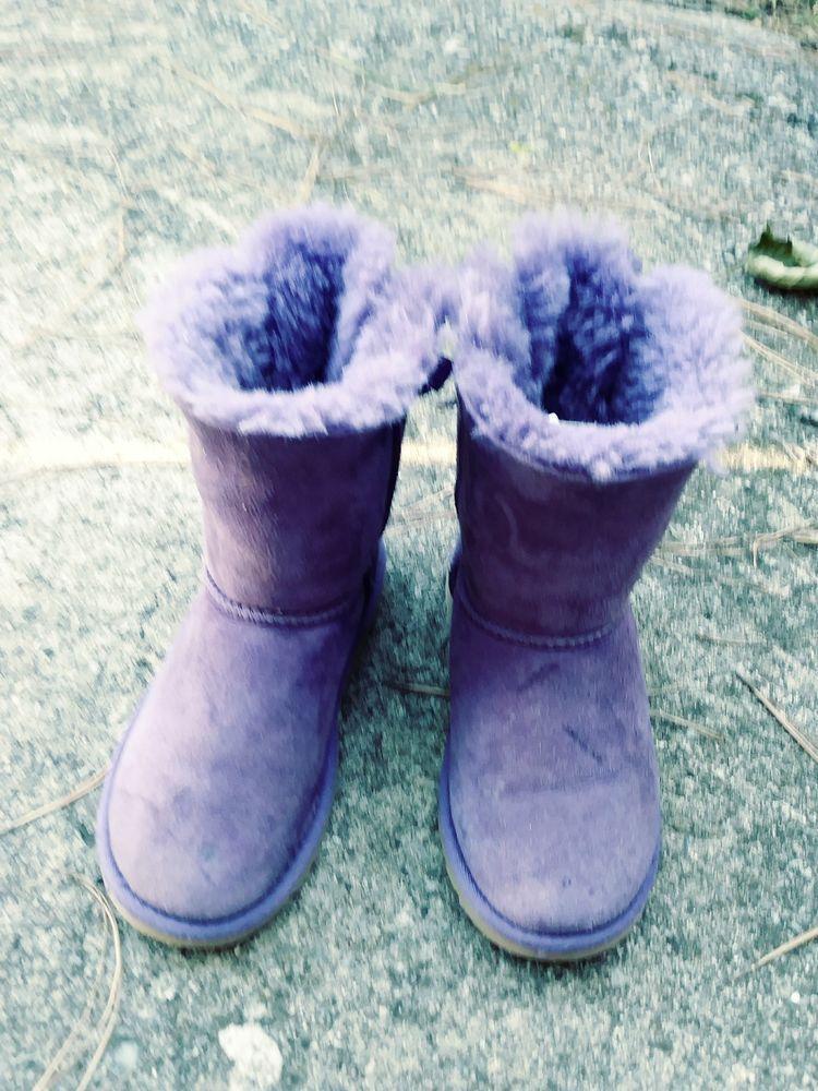 23b5bf3a36f UGG AUSTRALIA Girls Purple Boots