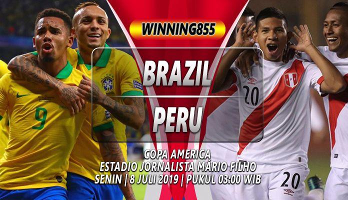 Prediksi Brazil vs Peru : Brazil Dipastikan Menang Mudah ...