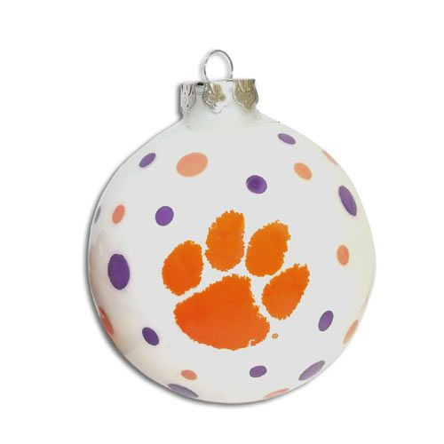 Clemson Christmas Tree: Decorate Your Christmas Tree With A Clemson Ornament