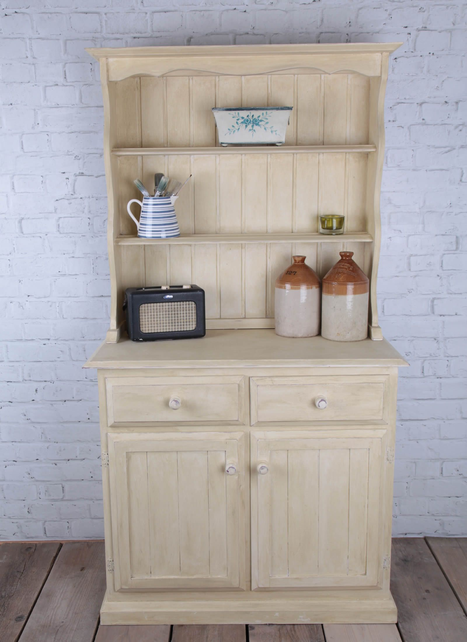 Shabby Chic Kitchen Furniture Welsh Dresser Shabby Chic Country Home Farmhouse Home Kitchen
