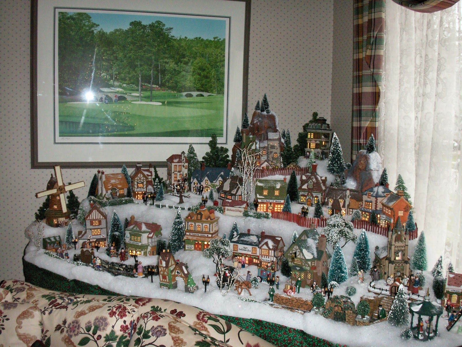 christmas village display ideas home design image ideas dickens village set up ideas