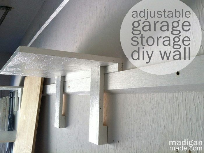Adjustable Storage Wall Idea Furnituredecor Pinterest Garage
