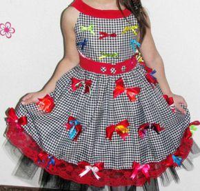 vestidos de festa junina infantil