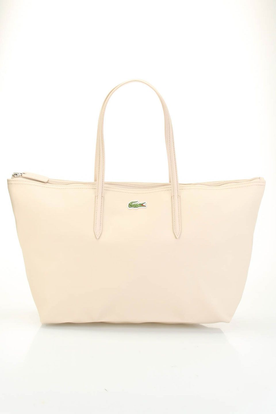 3aa5db1c03c Lacoste Large Shopping Bag In Smoke Gray | Lacoste | Lacoste bag ...