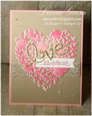 A La Cards: Love is in the air...