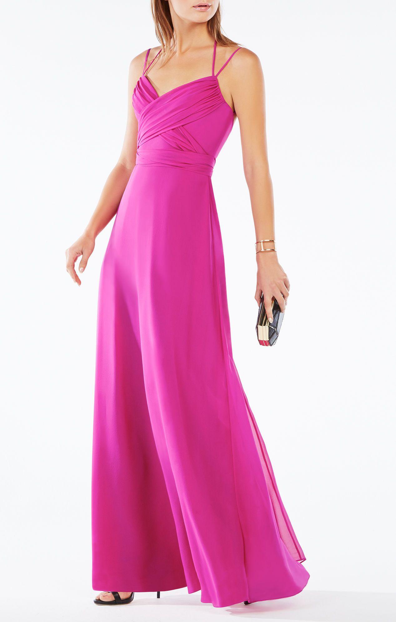 Rosabelle Open-Back Silk Gown | Semi-formal/Formal Dresses ...