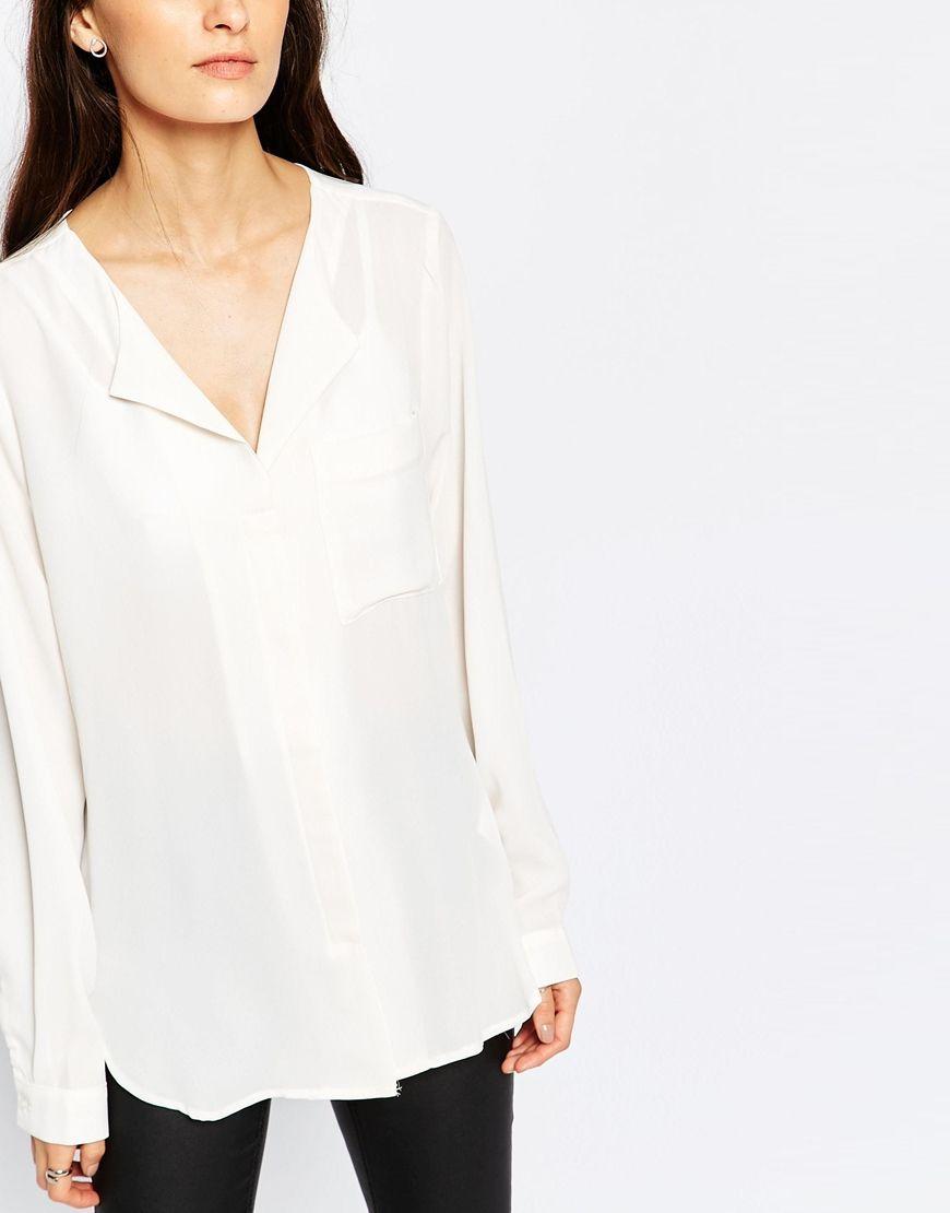Imagen 3 de Camisa blanca Dynella de Selected