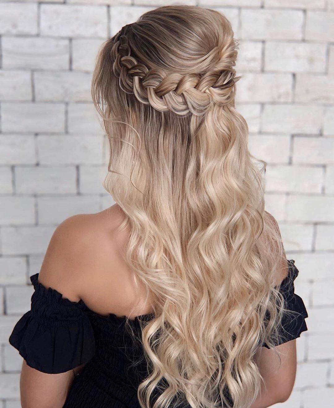 Prom Hairstyles Medium Length Hair – davaocityguy.me   Simple prom ...