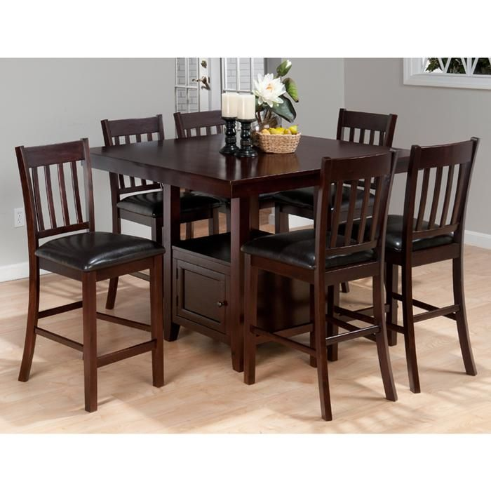 7 Piece Counter Height Set In Chianti