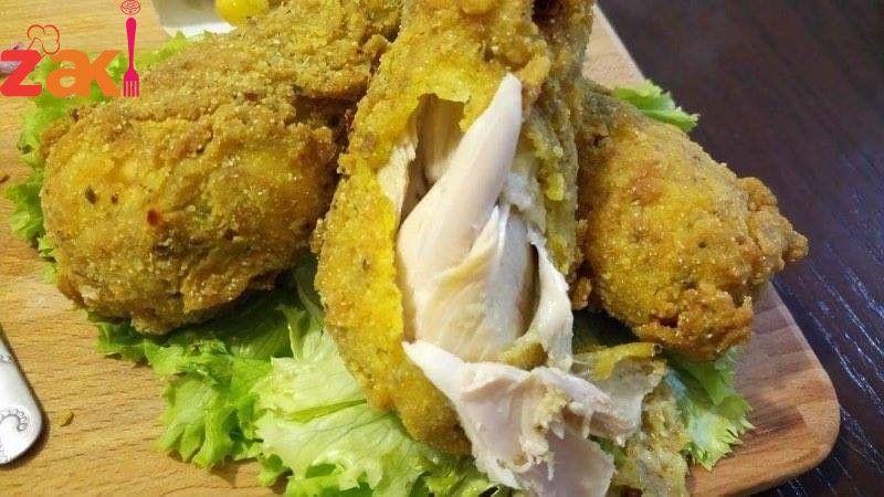 بروستد الدجاج المقرمش Main Dishes Dishes Resturant