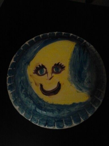 Is it a moon or banana? Who cares?! Atleast its smiling.