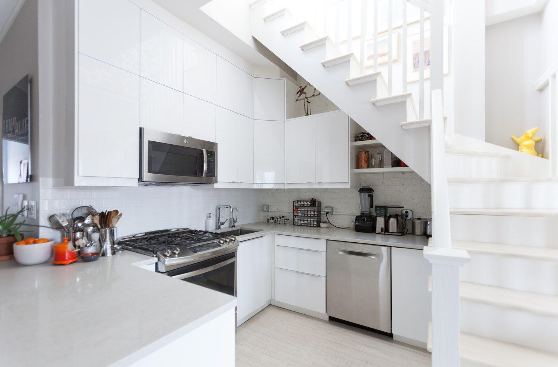 10 Kitchens That Solve The Awkward Corner Conundrum Kitchen Cabinet Design New Kitchen Cabinets Corner Kitchen Cabinet